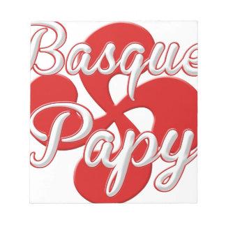Basque Grandpa Notepad