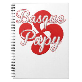 Basque Grandpa Spiral Notebook