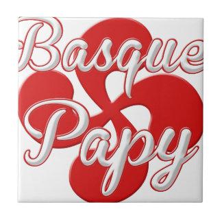 Basque Grandpa Tile
