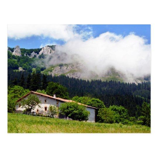 basque house in Aramaio Postcard