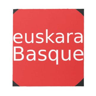 Basque Language Design Notepad