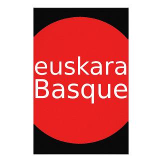 Basque Language Design Stationery