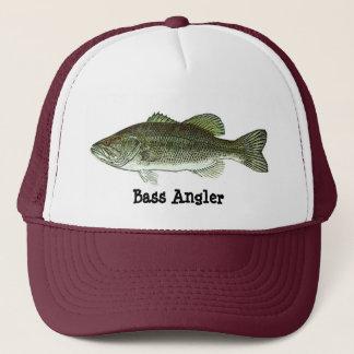 Bass Angler, Bass Angler Hat/Cap Trucker Hat