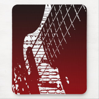 Bass-axe Mouse Pad