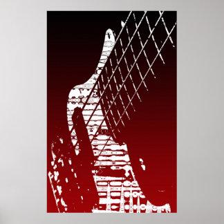 Bass-axe Poster