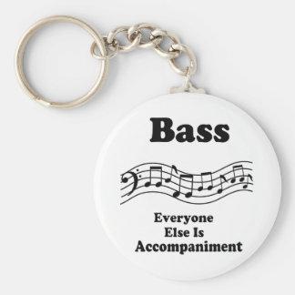 Bass Choir Gift Keychain