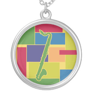 Bass Clarinet Colorblocks Necklace