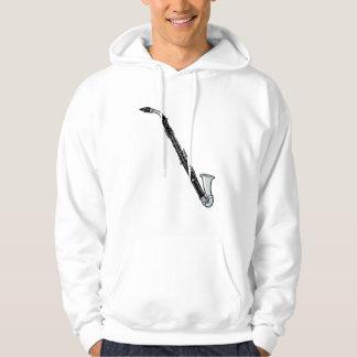 Bass Clarinet Graphic, Just the Clarinet Sweatshirt