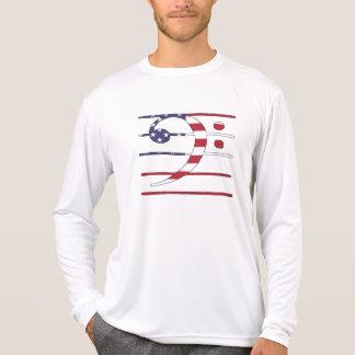 "Bass clef ""american flag"" T-Shirt"
