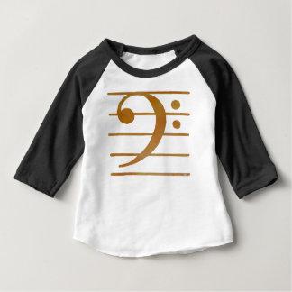 Bass Clef Art Baby T-Shirt