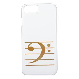 Bass Clef Art iPhone 8/7 Case