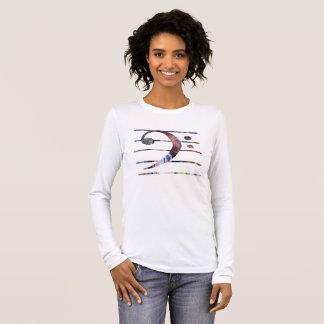 Bass Clef Art Long Sleeve T-Shirt
