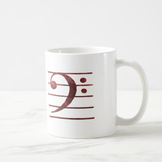 Bass Clef Coffee Mug