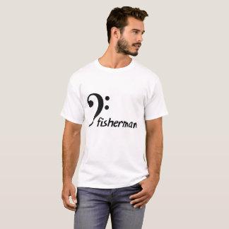 Bass (clef) Fisherman shirt