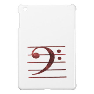 Bass Clef iPad Mini Case