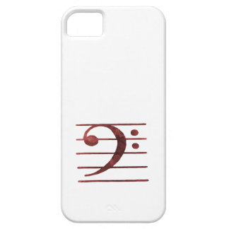 Bass Clef iPhone 5 Case