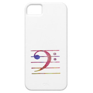 Bass Clef iPhone 5 Cover