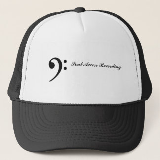 bass clef, Soul Access Recording Trucker Hat