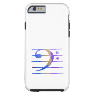 Bass Clef Tough iPhone 6 Case