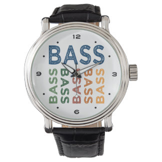 Bass Colorful Watch