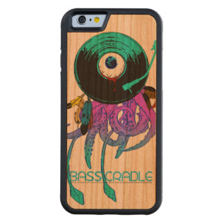 Bass Cradle Eye Record Carved Cherry iPhone 6 Bumper Case