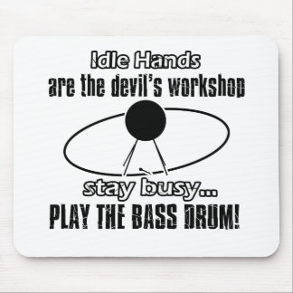 bass drum design mousepads