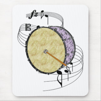 Bass Drum Mouse Pad