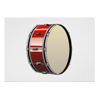 Bass Drum Posters