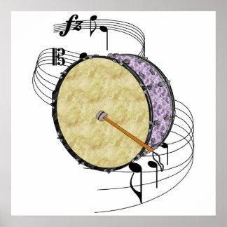 Bass Drum Poster