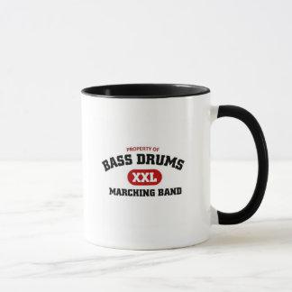 Bass Drums Marching Band Mug