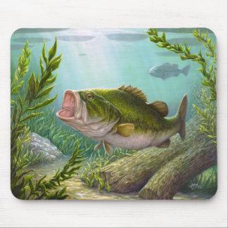Bass Fish Mouse Pad