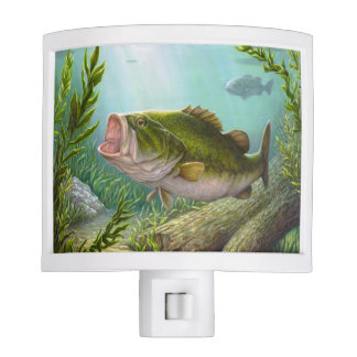 Bass Fish Nite Lites