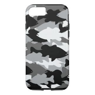 Bass Fishing Black Camo iPhone 7 Case