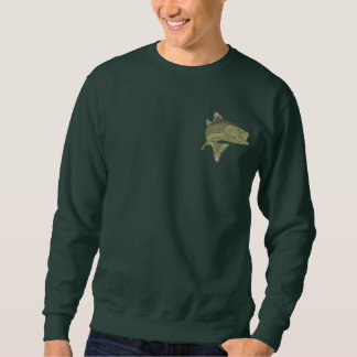 Bass Fishing Embroidered Sweatshirt