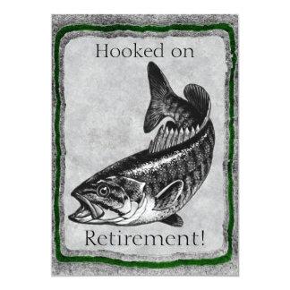 Bass Fishing invitation template