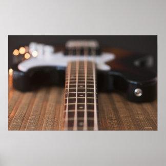 Bass Guitar 3 Poster