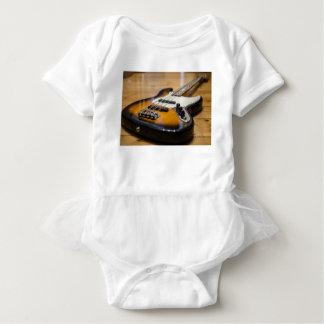 Bass Guitar Bass E Bass Instrument Strings Baby Bodysuit