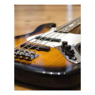 Bass Guitar Bass E Bass Instrument Strings Letterhead