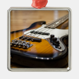 Bass Guitar Bass E Bass Instrument Strings Metal Ornament