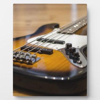 Bass Guitar Bass E Bass Instrument Strings Plaque