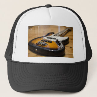 Bass Guitar Bass E Bass Instrument Strings Trucker Hat