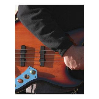 Bass Guitar Letterhead