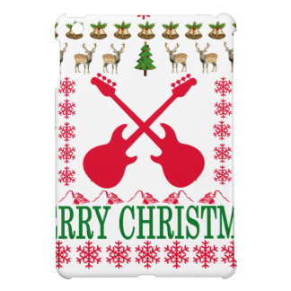 BASS GUITAR MERRY CHRISTMAS . iPad MINI COVERS