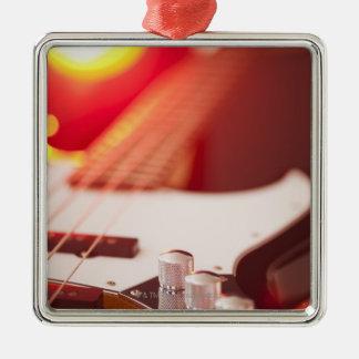 Bass Guitar Metal Ornament