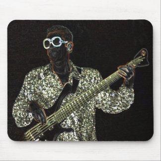 bass guitar music guy sound mousepad