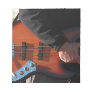Bass Guitar Notepad
