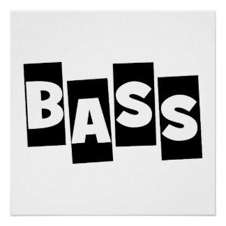 Bass Guitar Perfect Poster