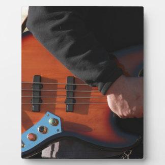 Bass Guitar Plaque