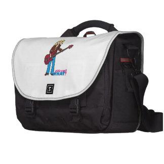 Bass Guitar Player - Light Blonde Computer Bag