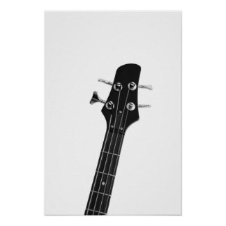 Bass Guitar Print